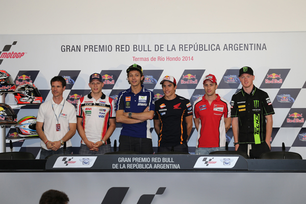 Rueda de prensa GP Argentina 2014
