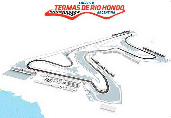 Primeras tomas de contacto con el circuito de Termas de Río Hondo