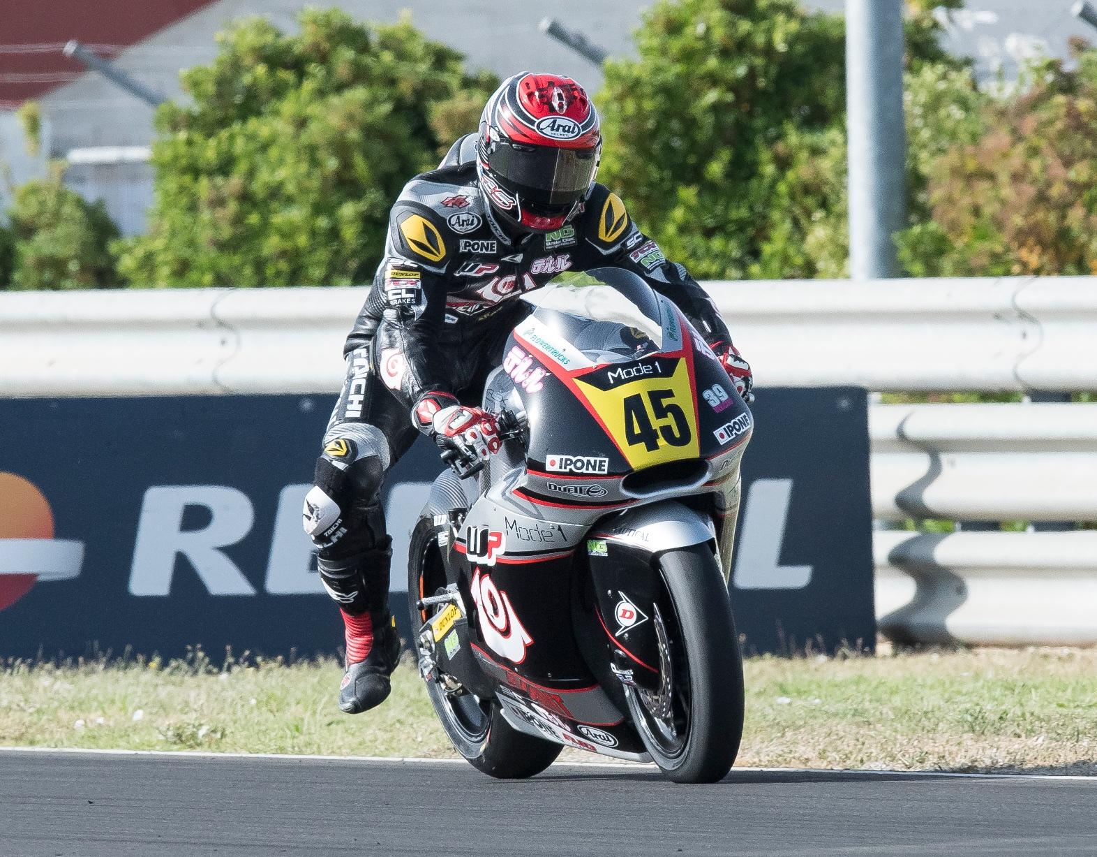 Los pilotos japoneses vuelven a hacer podio en Moto2 y Moto3