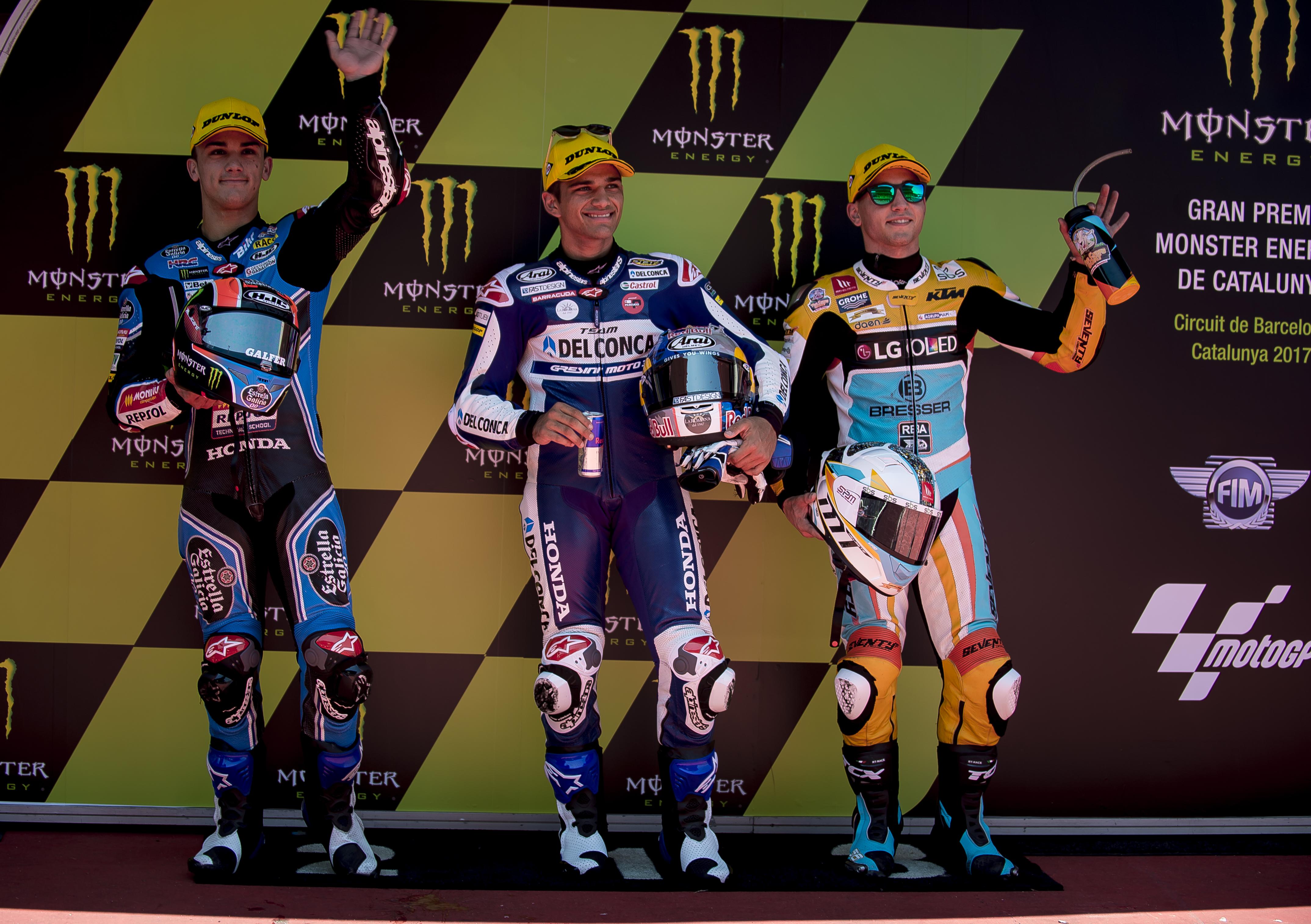 Moto3: Martín le arrebata la pole a Canet y Guevara saldrá tercero