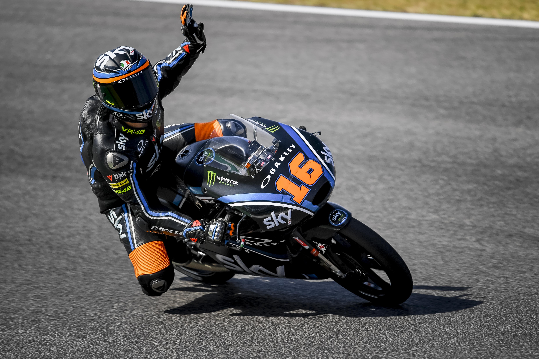 Moto3: Primera victoria de Migno y Guevara en el podio