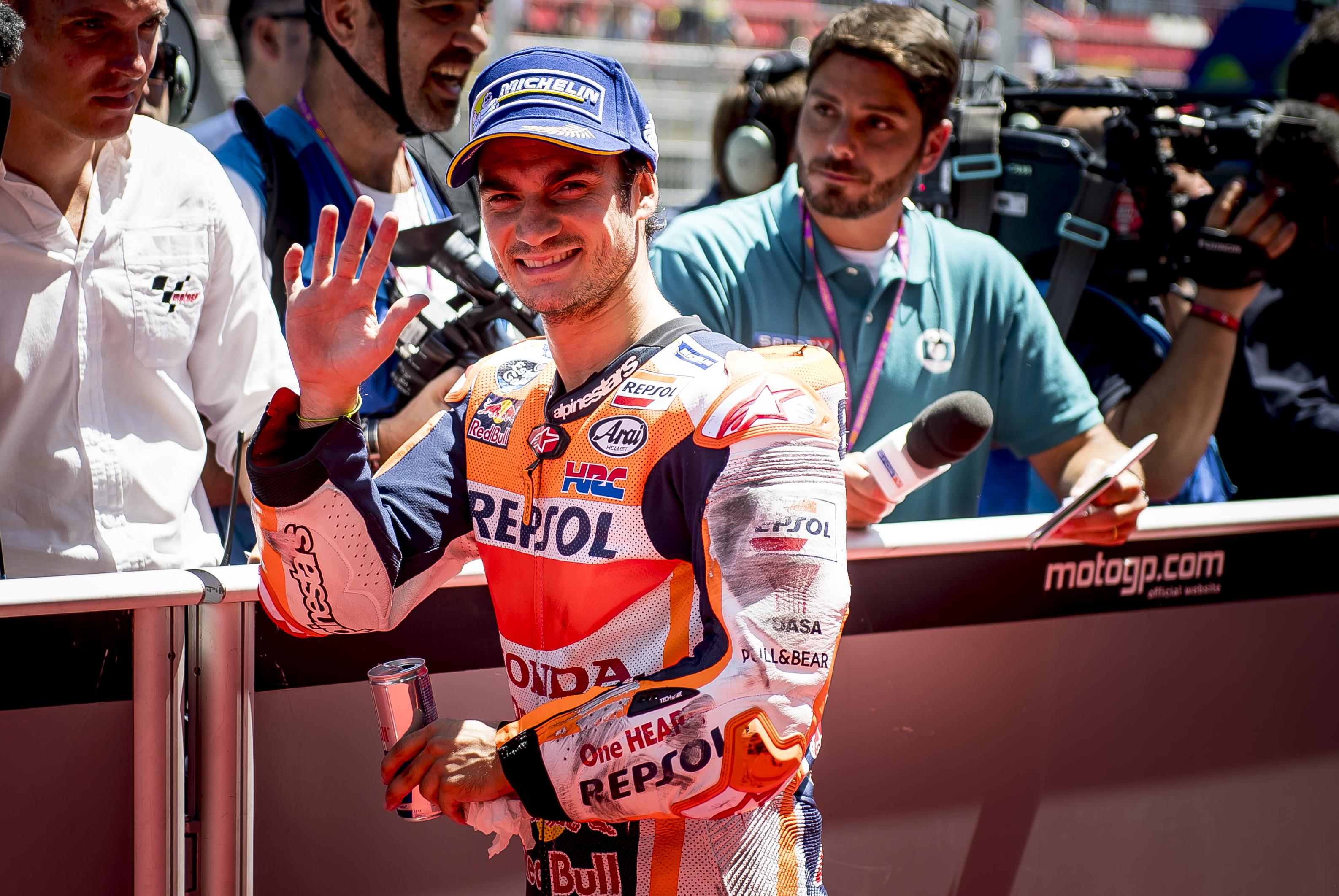 Segunda pole de la temporada para Pedrosa y Lorenzo saldrá segundo