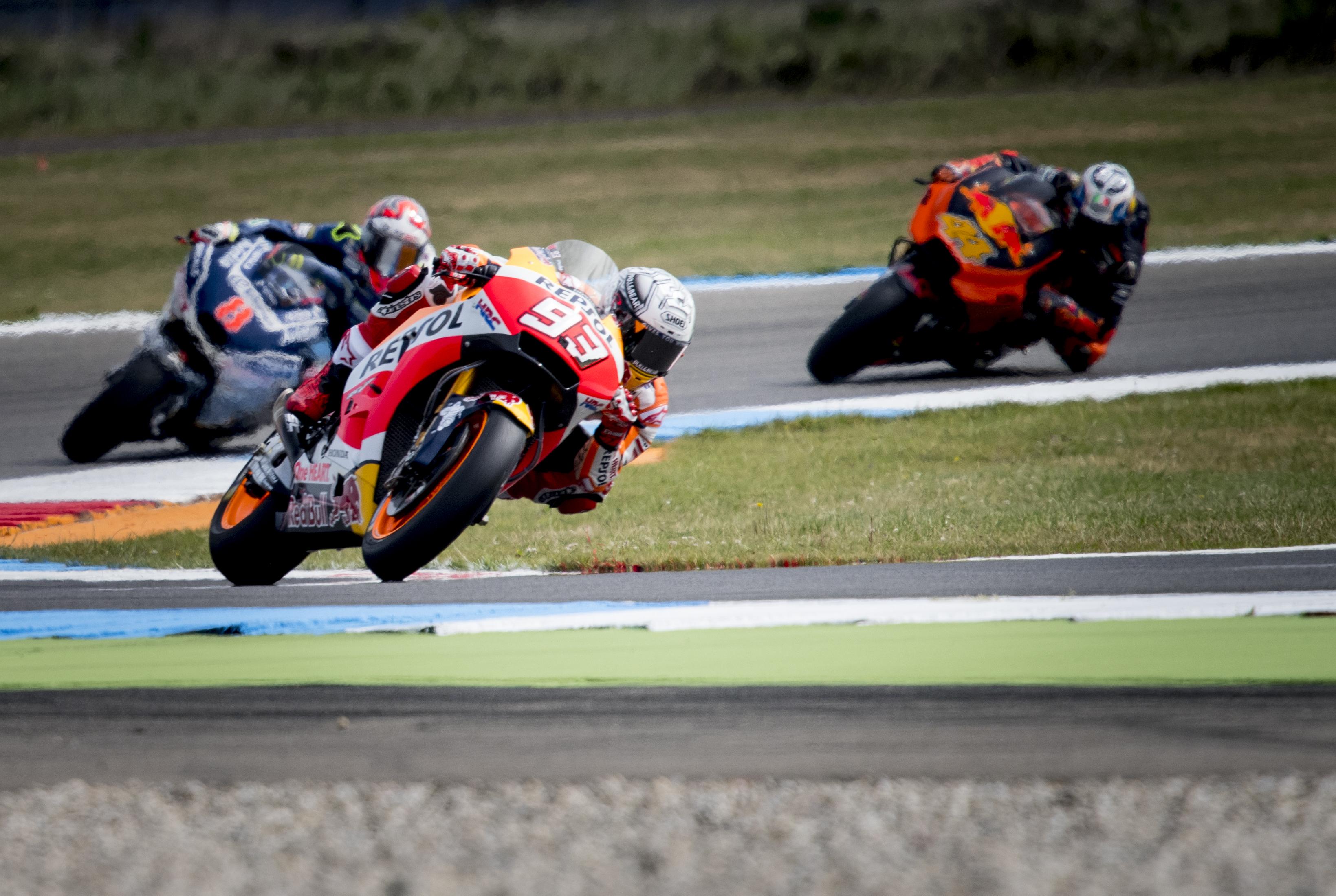 Márquez: «Nuestra moto es más inestable, pero podemos ser fuertes en otros puntos»