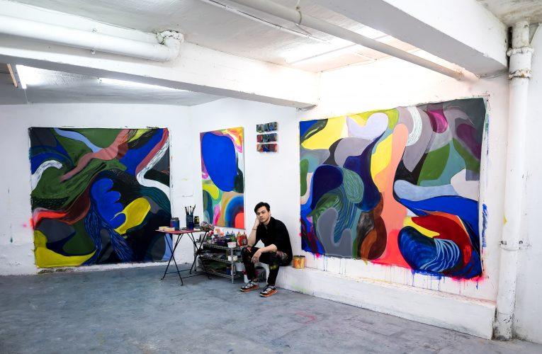 Ronald Zambrano, el camino del color